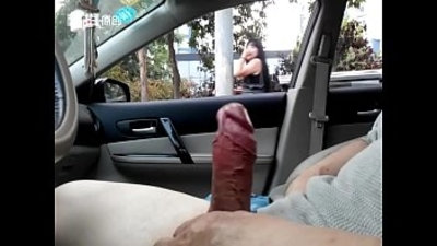 car  chinese  cock  flashing