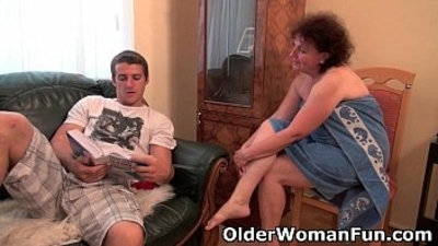 chubby couch drilling gilf