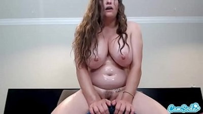 big boobs  camgirl  chubby  dildo