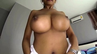 asian  big boobs  busty  creampie