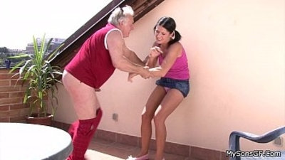 ass fucking family grandpa old and young