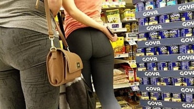 big ass  mom  pawg  spandex